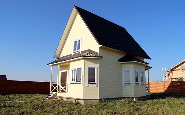 Недорогой загородный дом
