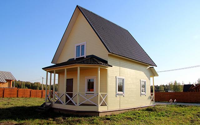 Дачные дома эконом класса